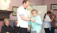 Staff and Residents Dancing